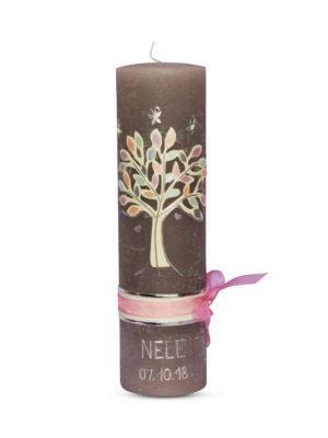 taufkerze-taufe-rustic-christening-rustik-kerze-motivkerze-motiv-individuell-kerzendesign-rustik-rustikal-vintage-dekoband-baum-lebensbaum-kirschbaum-kirschblüten-mädchen (1)