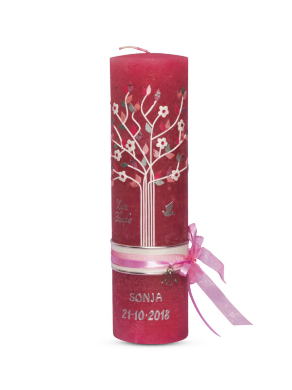 vintage-taufkerze-vintage-grau-kommunionkerze-lebensbaum-mädchen-beeren-farbe-bordeaux-altrosa,-rosa-rustik-kerze (1)